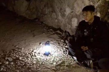 李連杰五台山祈福被偶遇,盤坐佛洞獨自冥想,疑想脫去「凡胎」?