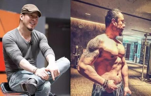 49歲的楊坤熱愛健身,肌肉發達惹人羨慕,徹底擺脫中年油膩