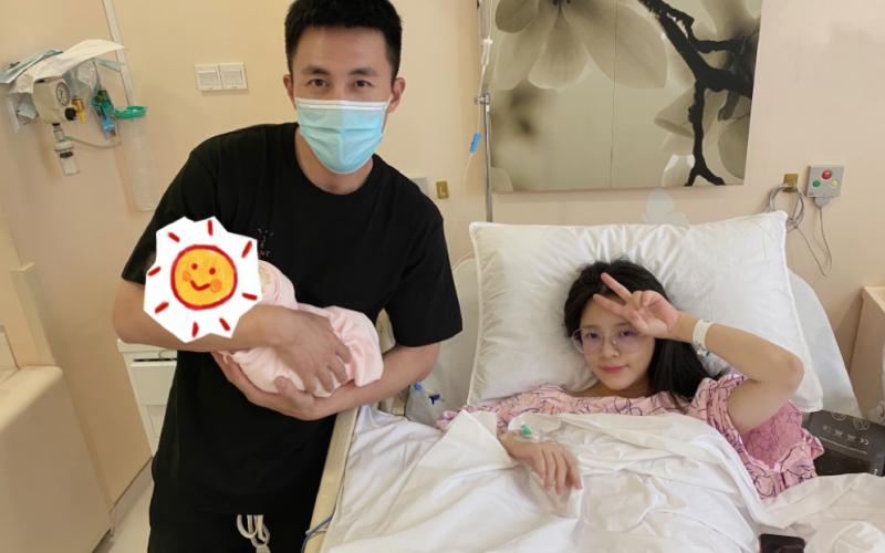 杜淳老婆自曝產女過程!突然出血提前做手術,老公幫忙擦身體喂飯