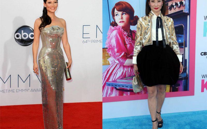 劉玉玲登時尚雜誌,秀傲人身材,52歲為亞裔持續發聲