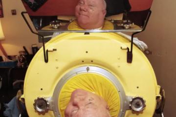 「臥床」69年,他僅憑一張嘴,感動千萬網友:謝謝你,我不想死了