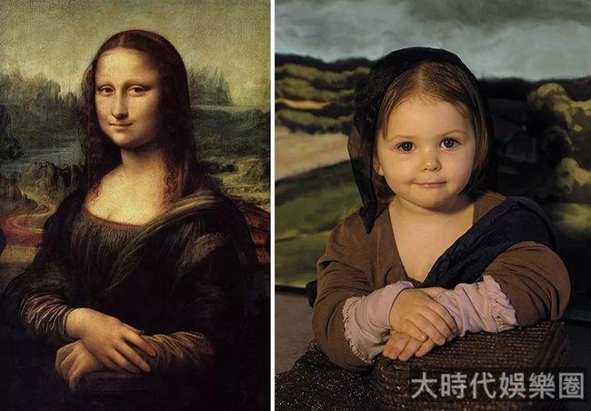 她把孩子拍成了世界名畫