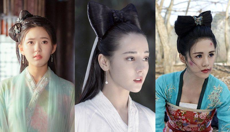 9位女星「蝴蝶結髮髻」古裝造型!迪麗熱巴甜美、趙露思蠢萌