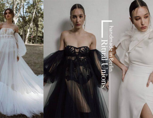 德國婚服品牌Ritual Unions 為現代新娘詮釋個性婚服