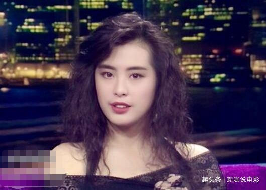 王祖賢20歲舊照曝光,那時沒有整容