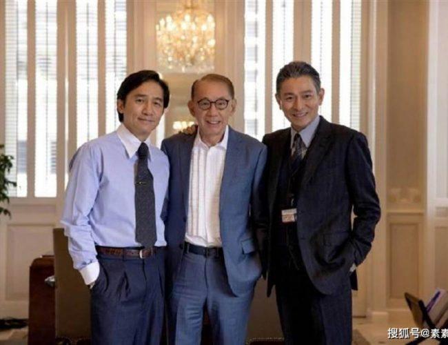 劉德華《金手指》老年妝 片場和楊受成梁朝偉探討工作