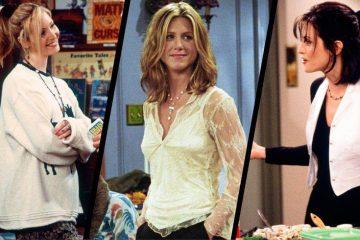 《老友記》中的時髦時刻!盤點12個Rachel、Phoebe、Monica示範的經典穿搭造型
