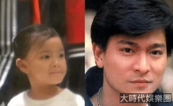 天王劉德華女兒近照,顏值完全繼承了優良基因,從小就是美人胚子