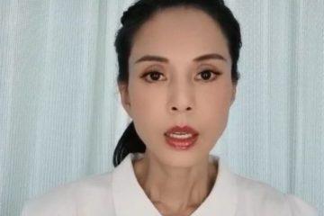 54歲李若彤曬為河南發聲視頻,數次哽咽含熱淚