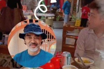 57 歲劉青雲和 55 歲郭富城聚餐,胡子花白太顯老,差兩歲似兩代人