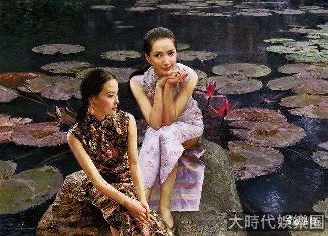 100幅絕美油畫裡的中國女性,一飽眼福!